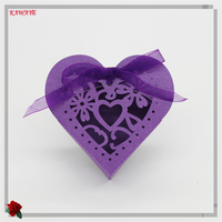 50pcs Love Heart Laser Cut Candy Box Wedding Favor Box Party Supplies Wedding Favors And Gifts Wedding Party Decoration 6ZXT17