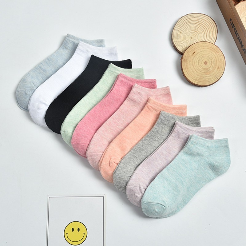 SOFIBERY Women's   Socks   Casual Breathable Comfortable Cotton   Socks   Fashion Boat   Socks   SK4