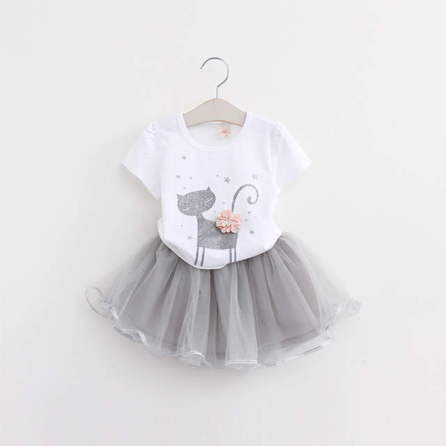 29f59b164 Hello Kitty Girls Dresses Summer 2017 Cartoon Wings Tutu Dress For Girls  Kids Princess Dresses Girls Clothes Robe Enfant Cloth -in Dresses from  Mother ...