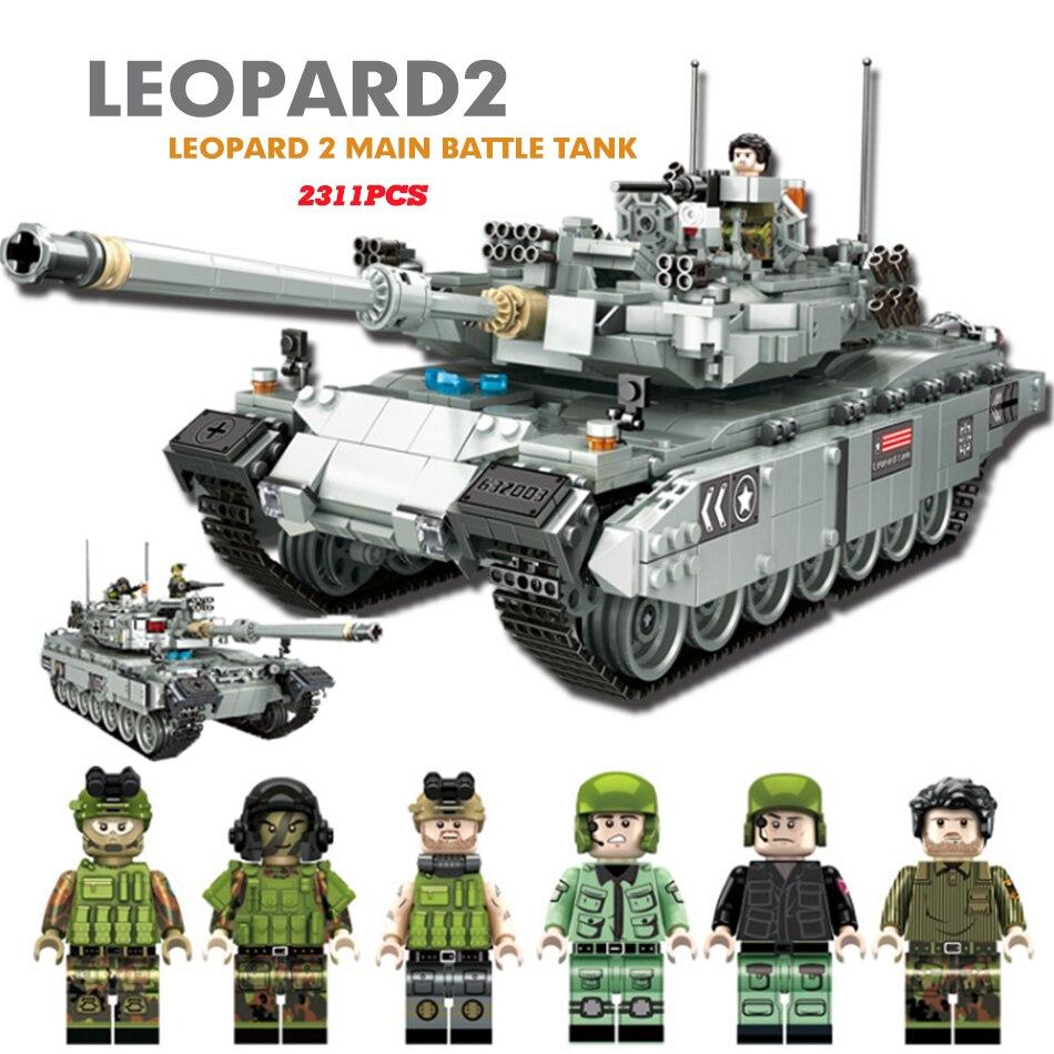 Военный танк Строительные блоки Набор ww2 игрушечная цистерна битва мини армейский солдат пистолет Модель игрушки для детей LegoINGlys военный к