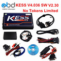 2017 New Kess V2 Master OBD2 Manager Tuning Kit Kess HW V4.036 SW V2.30 OBDII ECU Chip Tuning Tool No Tokens Limit ECM Titanium