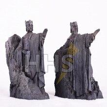 11*14 CM Yüzüklerin Efendisi Bookends Aksiyon Figürü Kapıları Gondor Argonath Diecast Heykeli Şekil oyuncaklar Batı Anime Hediyeler