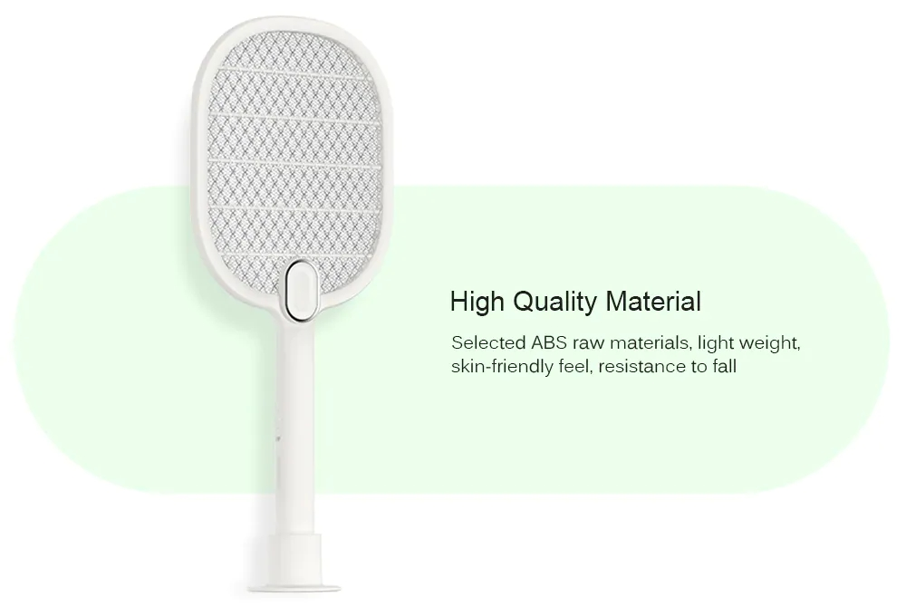 Xiaomi Mijia 3 Layers Mesh Electric Mosquito Swatter Electric Handheld Mosquito Killer Insect Fly Bug Mosquito Swatter Killer (2)