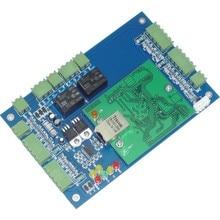 Podwójne Drzwi Dwukierunkowe TCP/IP Wiegand Access Control Board RFID/NFC Drzwi Kontroler Dostępu + Darmowe Systemu Kontroli dostępu