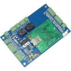 Podwójne drzwi dwukierunkowy Wiegand TCP/IP kontroli dostępu RFID/NFC kontroler dostępu do drzwi + darmowa System kontroli dostępu access control system control systemdoor access control -