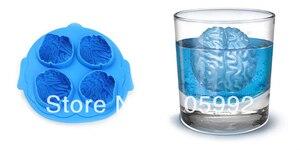 IceCube plateau fabricant de moules | Outil, barre en forme de cerveau boisson de fête 4 en 1 moule à glace en forme de cerveau 2 pièces/lot
