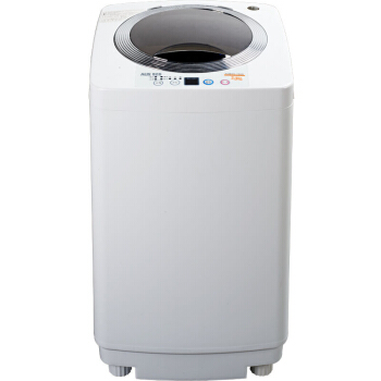 3 Kg Voll Automatische Welle Rad Anti-wicklung Waschmaschine Noise Reduktion Mini Kleine Baby Waschmaschine Transparent Silber