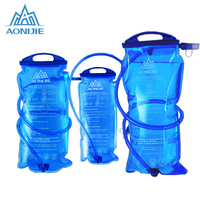 AONIJIE Outdoor Cycling Running Foldable PEVA Water Bag Sport Hydration Bladder For Camping Hiking Climbing 1L