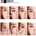 2Pcs Makeup Liquid Concealer Stick Hide Blemish Cream Concealer Lip Dark Eye Circle Cover Concealer Long Lasting Face Care