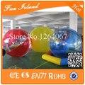 Бесплатная доставка 0.8 мм тпу надувные вода ходьбе мяч прогулка-на-воде мяч, Шарик хомяка, Zorbing мяч на воде