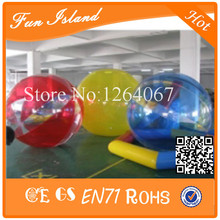 Free Shipping 0.8mm TPU Inflatable Water Walking Ball Walk On Water Ball,Human Hamster Ball,Zorbing Ball On Water