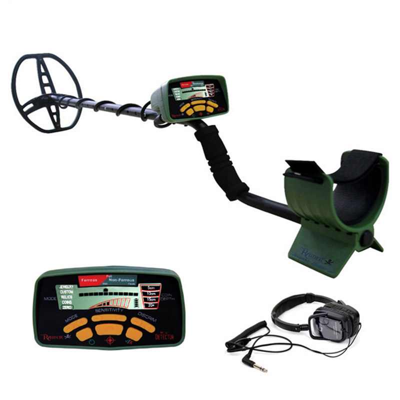 Professional MD6350 Underground Metal Detector <font><b>DD</b></font> <font><b>Coil</b></font> WaterProof Treasure Hunter All Metal Digger Coins Pinpointer Detecting image