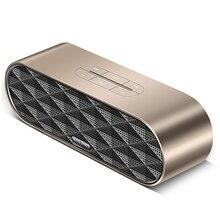 Subwoofer Altavoz Bluetooth Dual Estéreo Bass auriculares Inalámbricos Altavoz Columna de Metal Barra de Sonido Apoyo TF Manos Libres Mic para la Computadora Del Teléfono