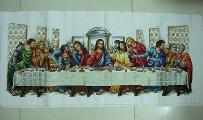 Hot Sell Wall Home Decor Completed Cross Stitch The Last