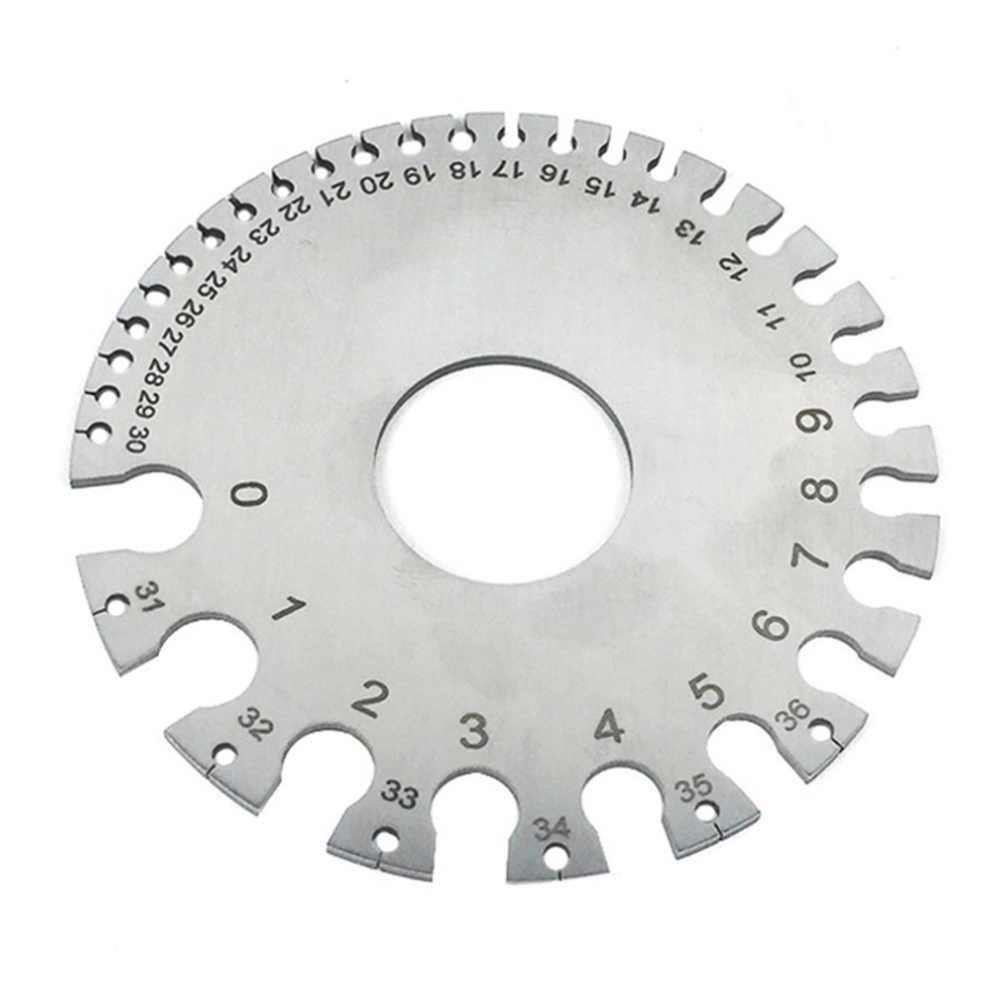 Measuring Wire Gauge Tool Gaging Sheet Metal Steel Copper 0 36 New Hot Aliexpress