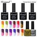 Vrenmol 1pcs Thermal Mood Color Changing UV Nail Gel Polish Long Lasting UV/LED 29 Colors Changed Gel Nail Varnish