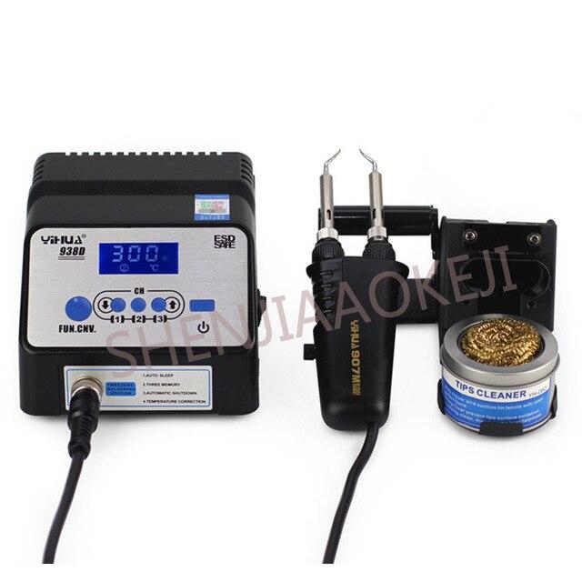 แหนบ soldering station ไฟฟ้าแหนบอัจฉริยะตะกั่ว - ฟรี soldering station Anti - static แหนบ 220 โวลต์ /110 โวลต์