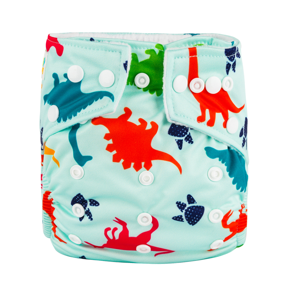 High Quality BABYLAND Waterproof Microfleece Baby Diapers 10 Units 10 Units Microfiber Inserts Absorbent Manufacturer