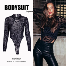 Black Sexy Club Winter Bodysuit