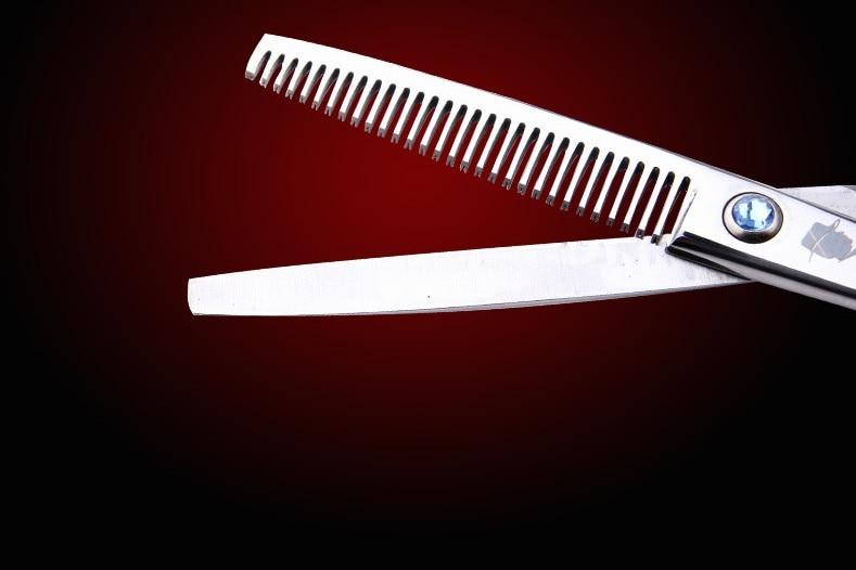 SMITH CHU profesional 6 inci rambut gunting Jepun 440c shears keluli - Penjagaan rambut dan penggayaan - Foto 5