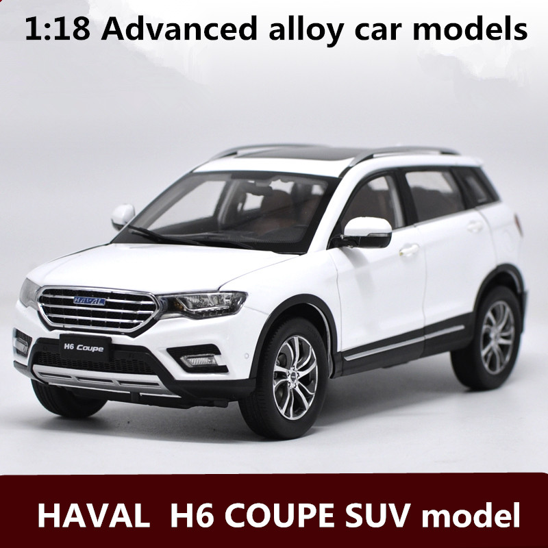 1:18 Advanced alloy car models,high simulation HAVAL  H6 COUPE SUV model,metal diecasts,children's toy vehicles,free shipping maisto 1952 citroen 15cv 6 cyl 1 18 scale car model alloy toys diecasts