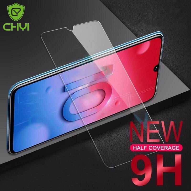 10 ცალი Huawei p20 p30 mate 20 lite შუშის ეკრანის დამცავი 9H ტემპერატურა huawei p20 p30 mate 20 pro მინის psmart 2019