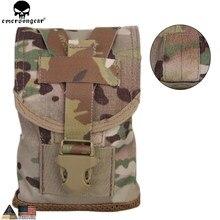 Pochette à benne basculante EMERSONGEAR poche à cantine MLCS accessoires de chasse tactique militaire pochette Multicam EM6039