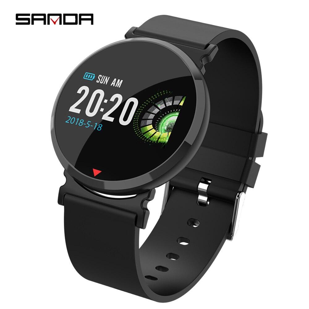 Bracelet de mode de sport d'affaires avancé, photo Bluetooth, affichage HD, montre antichoc, montre étanche de qualité de vie, calories