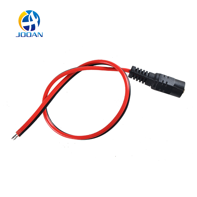 JOOAN 10pcs 2.1x5.5 mm Female Plug 12V DC Power Pigtail Cable Jack For CCTV Security Camera Connector 500pcs 5pin 2 5mm x 0 7mm dc notebook socket female cctv charger power plug diy