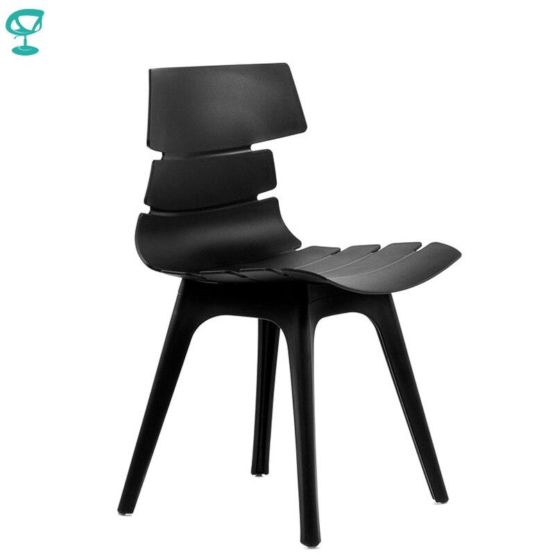95204 Barneo N-232 Plastic Kitchen Breakfast Interior Stool Bar Chair Kitchen Furniture Black Free Shipping In Russia