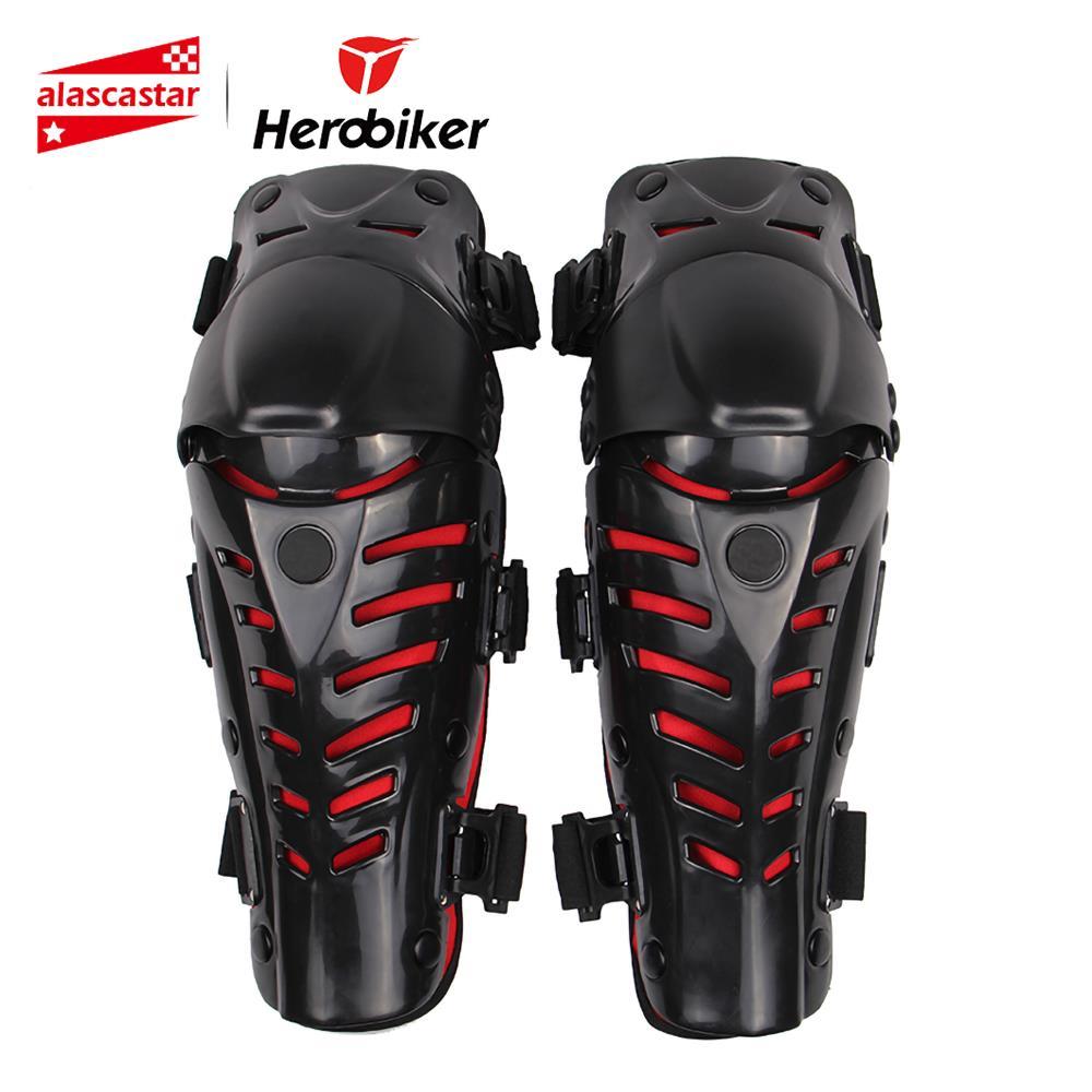 Vysoce kvalitní motocyklové kolenní podložky Mountain Bike Bicycles Venkovní sporty Motokros Koleepad Moto kolena Závodní ochranné pomůcky