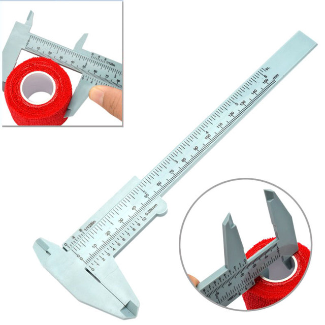 Permanent Eyeliner Plastic Calipers Makeup Supplies Tool 150mm for Tattoo Measuring Hot Mdf 4