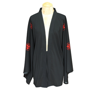 Naruto Akatsuki Uchiha Itachi Sasuke Ootutuki Hagoromo Cosplay Halloweem Party Capes Chiffon Cloak Sun Protective Bathrobe Robe(China)