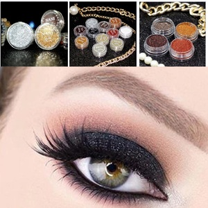 Monochrome 24 Color Glitter Eyes Powder Maquillaje Eyes Shimmer Palette Makeup Tool Festival Face Gems Cosmetic TSLM1