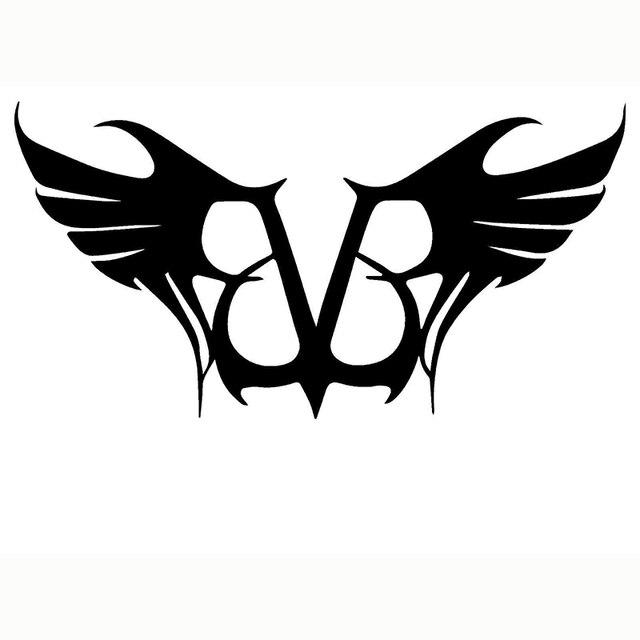 Black Veil Brides Wings Graphic Die Cut Decal Sticker Car Truck Boat