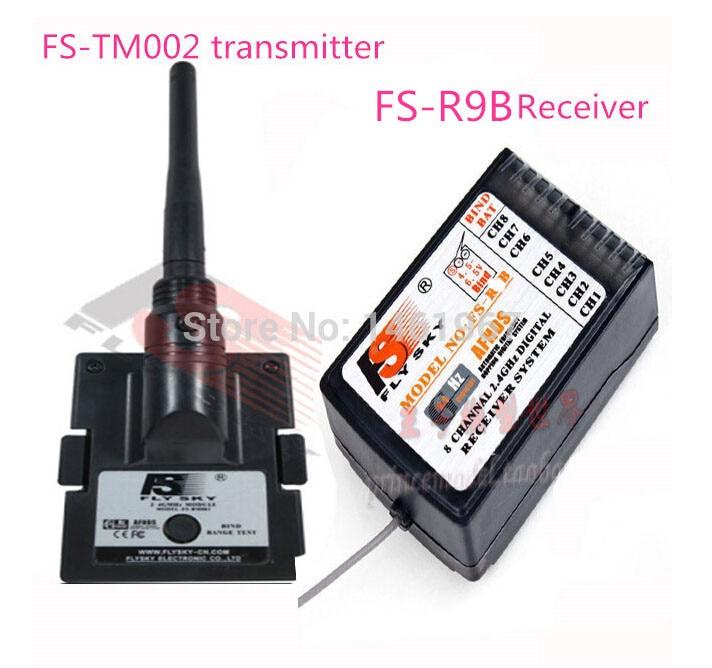 Flysky fly sky FS 2 4G upgrade transmitter module FS TM002 Antenna FS R9B receiver forTURNIGY
