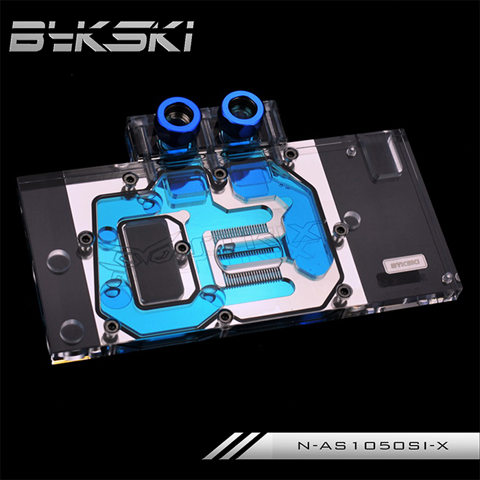 все цены на  Bykski N-AS1050SI-X Full Cover Graphics Card Water Cooling Block  for ASUS DUAL-GTX1050TI-4G ASUS DUAL-GTX1050-2G  онлайн