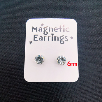 1 Pair Punk Stainless Steel Magnetic Ear Studs 6MM Round Colorful Crystal Strong Magnet Health Care.jpg 350x350 - 1 Pair Punk Stainless Steel Magnetic Ear Studs 6MM Round Colorful Crystal Strong Magnet Health Care No Hole Piercing Earrings