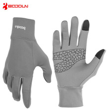 BOODUN Winter Men Women Touchscreen Windproof Cycling Gloves Ski Driving Skiing Snowboard Bike Outdoor Sports Mittens