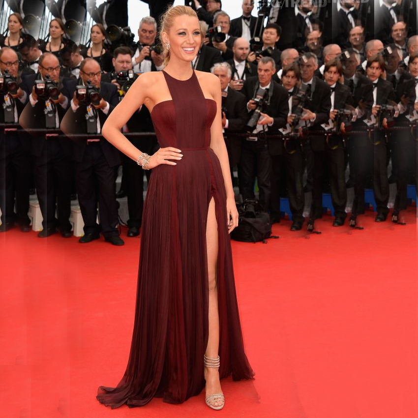Vnaix P2040 Most Popular Marsala Elegant Halter Strapless Chiffon Side Slit Sexy Long Formal Star Prom Dresses 2015
