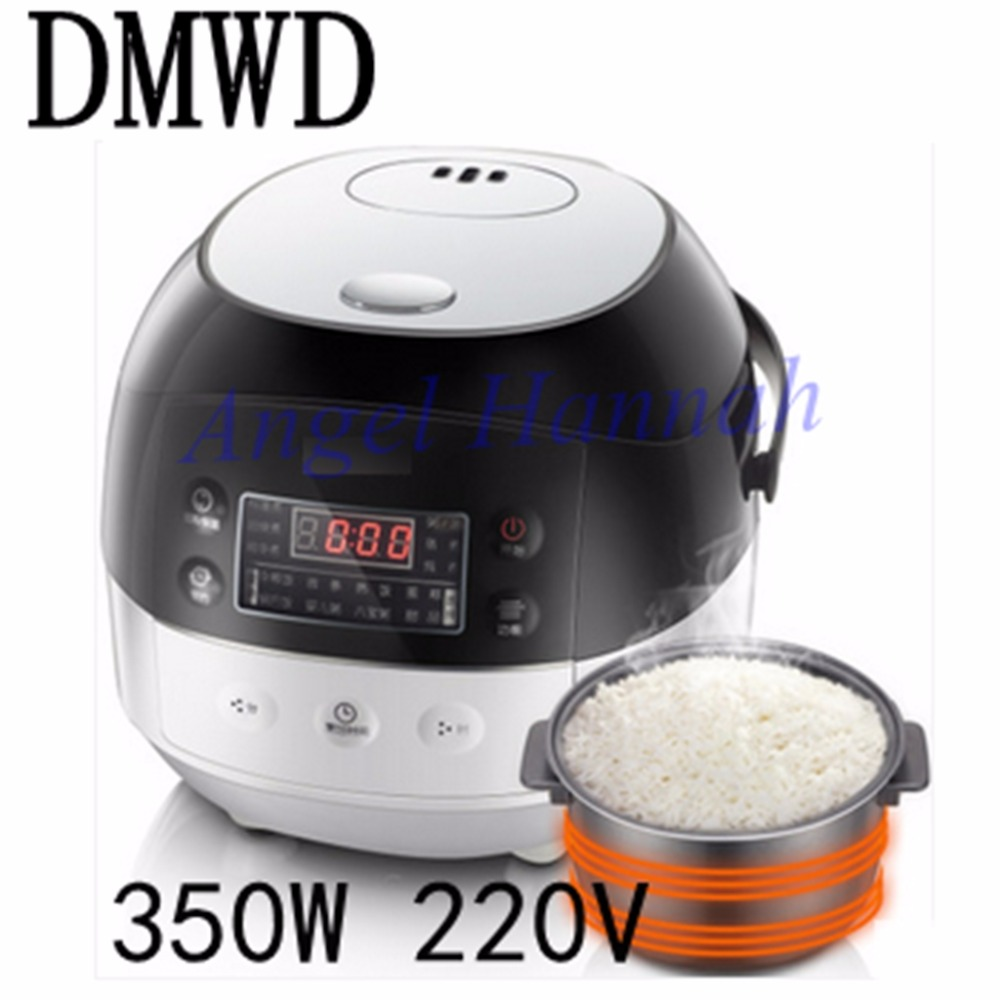 DMWD DFB-A20Y1 mini rice cooker 3~4 persons dorm cooking small household electric cooker genuine 350W 220V household electric pressure cookers porridge electric 4l rice cooker pressure rice cooker jyy 40yj9 1pc
