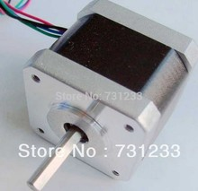 NEMA 17 Stepper Motor For 3D Printer 72oz-in 1.8 degree Body Length 48mm CE Rohs CNC Stepping Motor