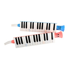 27 Keys Mouth Organ Harmonica Music Educational Wind Musical Instrument Pink Blue Great Gift Toy For Kids Beginner Drop Shipping