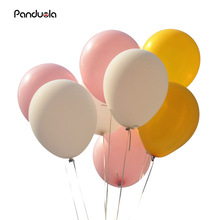 10 Inch Thick 2.2g Latex Ballons Birthday Wedding Decorations Air Balloons Pink White Gold Globos Ball Party Supplies Balloons(China)
