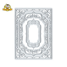 Frame Flower Die Metal Cutting Dies For Scrapbooking Card Stencil Making 2018