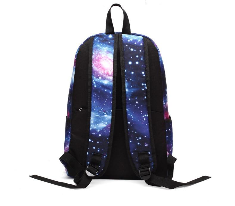 menino meninas céu estrelado estudante mochila crianças
