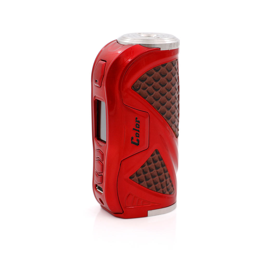 Original HCigar VT75 Color Box Mod screen TC e cigarette 75w VT75 vape with newest Evolv DNA75 Color chip 26650 18650 battery newest smy sdna200 mechanical box mod oled display temperature control 200w box mod vape mod vw vt mode