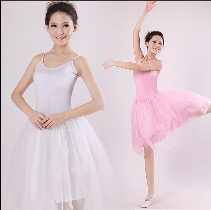 634d794a1 € 8.05 10% de DESCUENTO|Nuevo 2017 elegante tulle Ballet Faldas Tutu  vestido rosa negro blanco Swan Lake traje Ballet danza falda en Ballet de  La ...