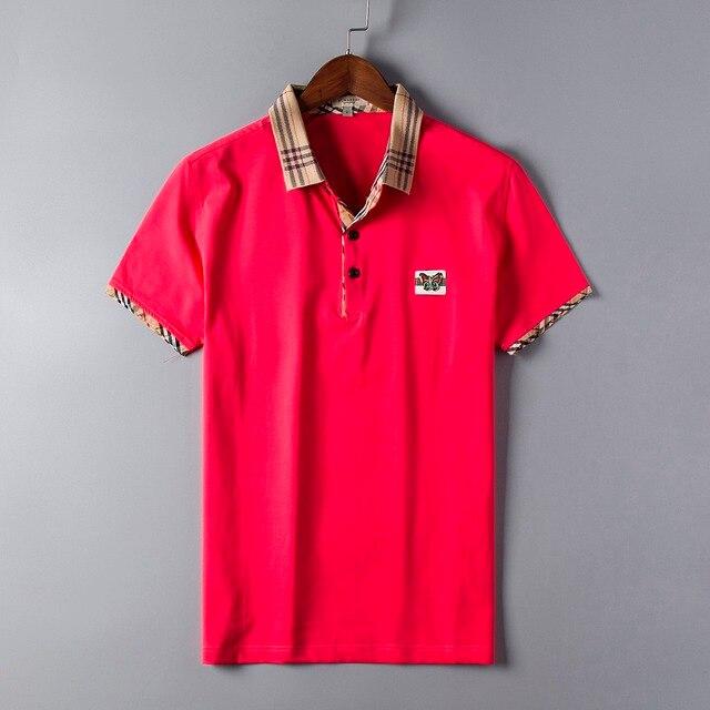 2017 Мужчины Polo Fast Dry Тонкий Дышащий Solid Polo Рубашка мужчины Мужской С Коротким Рукавом Бренд Поло Camisa Polo плюс размер хлопок