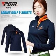 Pgm golf kleidung golf frauen langhülse POLO hemd herbst und winter Korean shirts